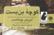 کوچه بن بست/ آیریس یوهانسن/ ترجمه ی حمید یزدان پناه